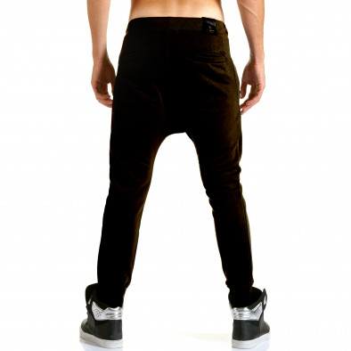 Pantaloni baggy bărbați Jack Berry negri it110915-29 3