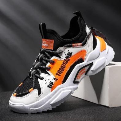 Teniși bărbați Fashion orange gr020221-13 3