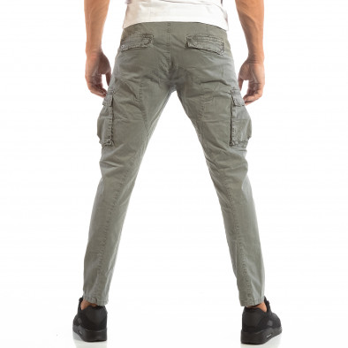 Pantaloni cargo gri pentru bărbați  it240818-2 4