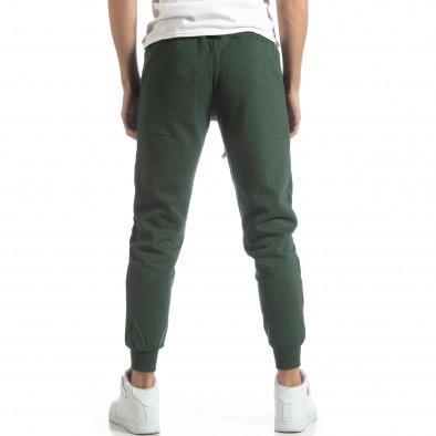Pantaloni sport matlasați verzi U.S.Navy pentru bărbați it051218-32 4