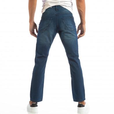 Blugi albaștri Regular fit pentru bărbați House  lp060818-24 3
