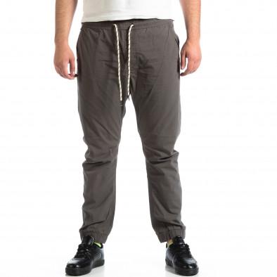 Pantaloni bărbați RESERVED gri lp290918-160 2