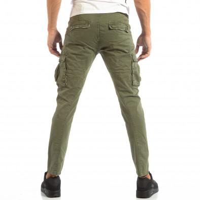Pantaloni cargo verzi pentru bărbați  it240818-1 4