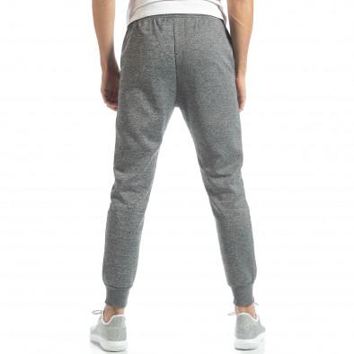 Jogger în melanj gri deschis pentru bărbați it051218-27 3