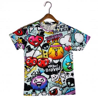 Tricou bărbați Made in Italy curcubeu it200421-8 2