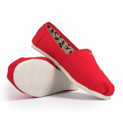 Espadrile bărbați Fashionmix roșii it020720-9 4