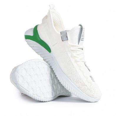 Teniși bărbați Fashion albi gr020221-4 5