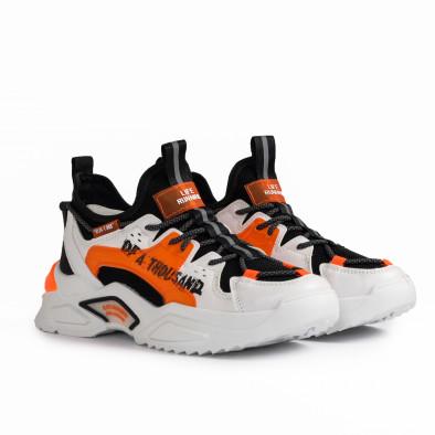 Teniși bărbați Fashion orange gr020221-13 4