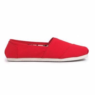 Espadrile bărbați Fashionmix roșii it020720-9 3
