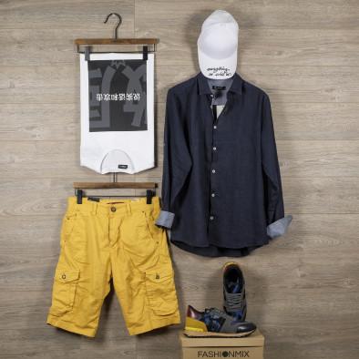 Pantaloni scurți bărbați Blackzi camel tr140520-10 4