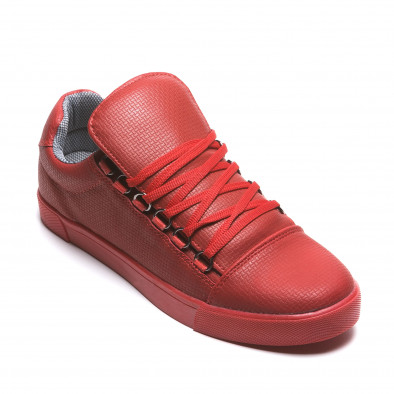 Pantofi sport bărbați Coner roșii il160216-5 3