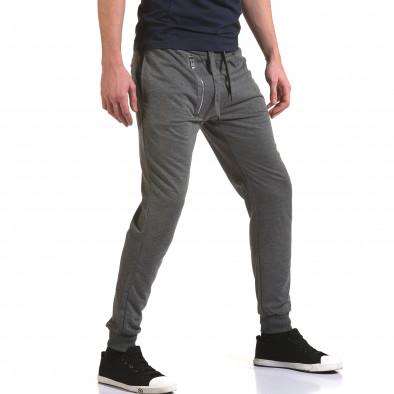 Pantaloni baggy bărbați Belmode gri it090216-43 4