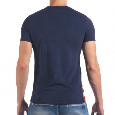 Tricou bărbați Just Relax albastru il060616-13 3