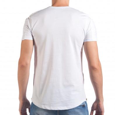 Tricou bărbați SAW alb il060616-24 3