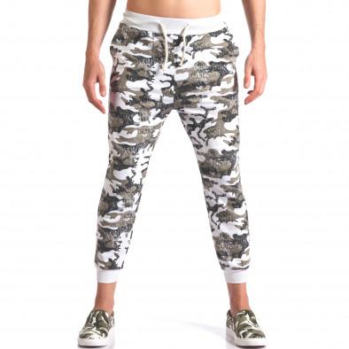 Pantaloni bărbați FM camuflaj it260416-34 2