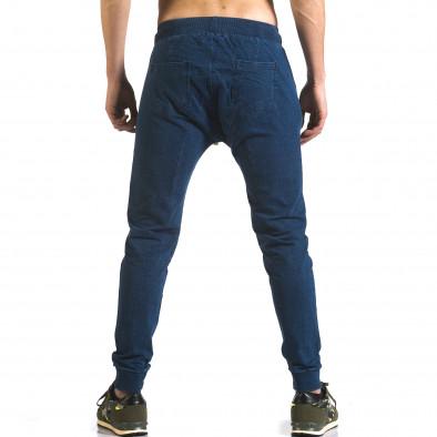 Pantaloni baggy bărbați Enos albaștri it090216-56 3