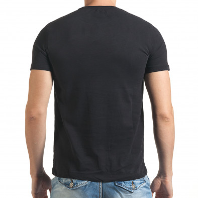 Tricou bărbați Just Relax negru il140416-27 3