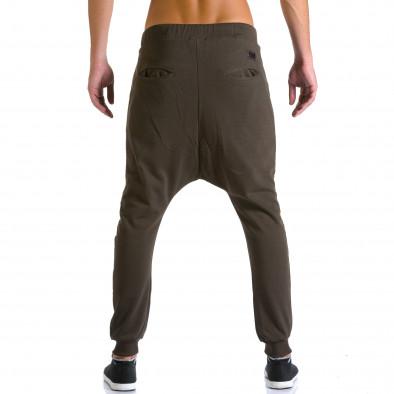 Pantaloni baggy bărbați Devil Slayer maro ca260815-25 3
