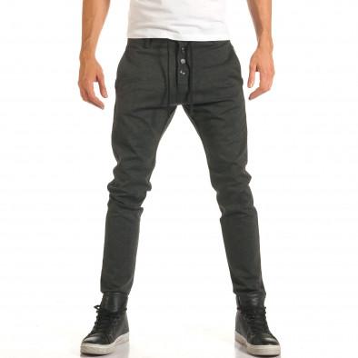 Pantaloni bărbați Jack Berry gri it191016-80 2