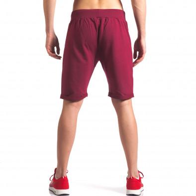 Pantaloni scurți bărbați New Men roșii it260416-25 3