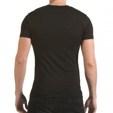 Tricou bărbați SAW negru il170216-59 3