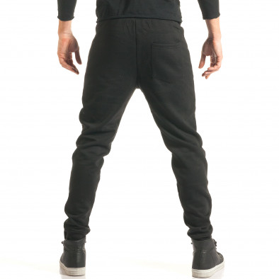 Pantaloni baggy bărbați Furia Rossa negri it181116-17 3