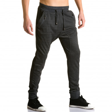 Pantaloni baggy bărbați Furia Rossa negri ca190116-19 4