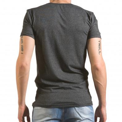 Tricou bărbați Madmext gri tsf060416-6 3