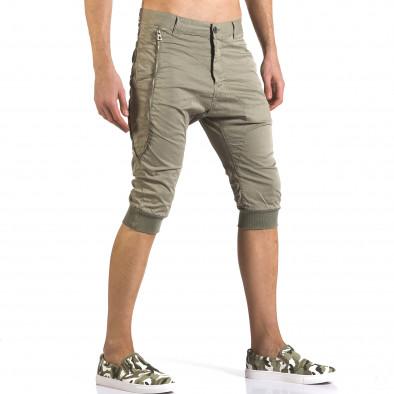 Pantaloni scurți bărbați TMK verzi it110316-52 4
