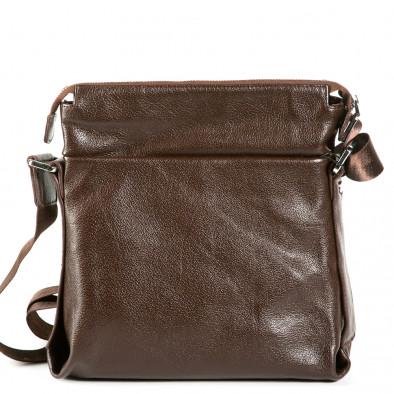 Geanta de umar Fashionmix maro bărbați 9077-1-brown 3