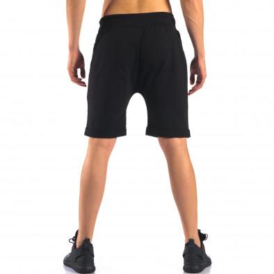 Pantaloni scurți bărbați Black Fox negri it160616-12 3