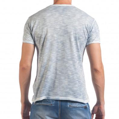 Tricou bărbați Lagos albastru il060616-40 3