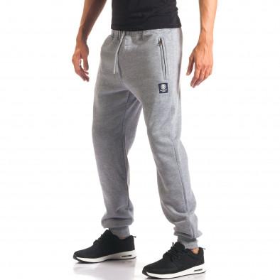 Pantaloni sport bărbați Marshall gri it160816-9 4