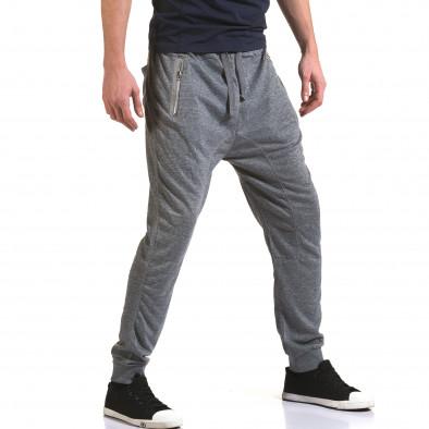 Pantaloni baggy bărbați Dress&GO gri it090216-37 4