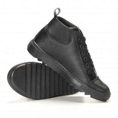 Teniși bărbați Shoes in Progress negri it141016-2 4