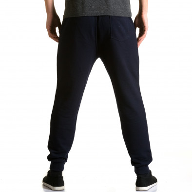 Pantaloni baggy bărbați Enos albaștri ca190116-32 3