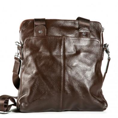 Geanta de umar Fashionmix maro bărbați 1182-brown 2