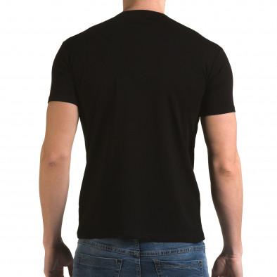 Tricou bărbați Lagos negru il120216-43 3