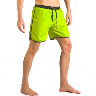 Costume de baie bărbați Yaliishi verde ca050416-29 4