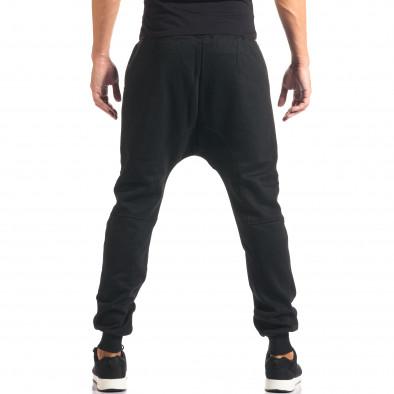 Pantaloni baggy bărbați Marshall negri it160816-20 3
