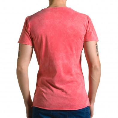 Tricou bărbați Adrexx roșu ca190116-47 3
