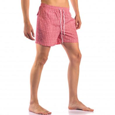 Costume de baie bărbați Bread & Buttons roșu it150616-17 4