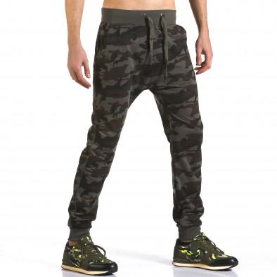 Pantaloni baggy bărbați Dress&GO camuflaj it110316-5 4