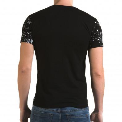 Tricou bărbați Lagos negru il120216-1 3