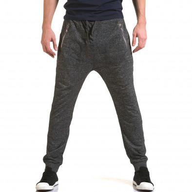 Pantaloni baggy bărbați Dress&GO gri it090216-36 2