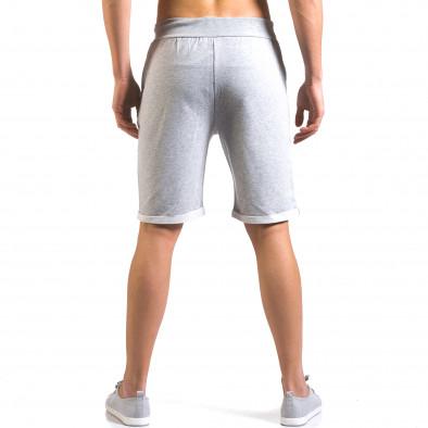 Pantaloni scurți bărbați Vestiti Delle Nuvole gri it160316-26 3