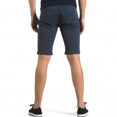 Pantaloni scurți bărbați Bruno Leoni albaștri it110316-49 3