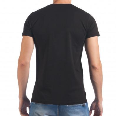 Tricou bărbați SAW negru il060616-22 3