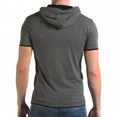 Tricou bărbați Lagos gri il120216-58 3