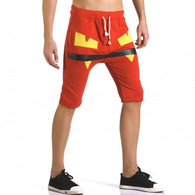Pantaloni scurți bărbați ChRoy roșii it110316-74 4